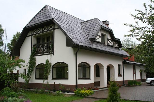 Фото домов штукатурка фасадов