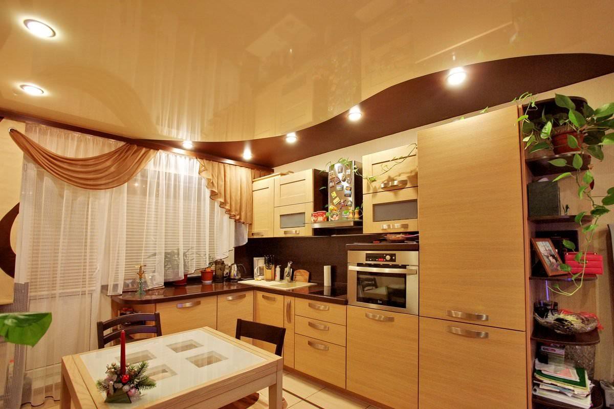 Потолки на кухню своими руками фото