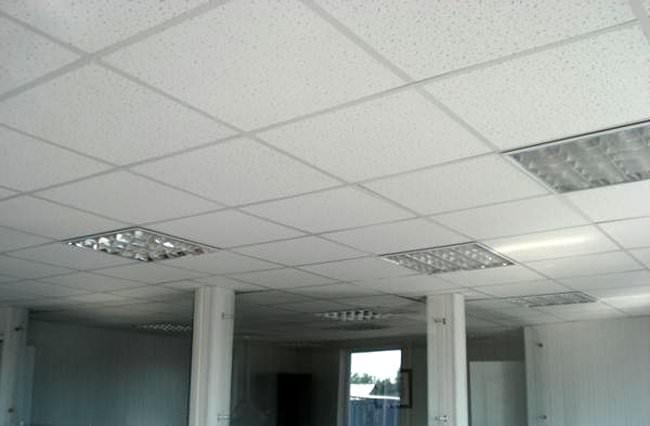 промышленные натяжные потолки фото