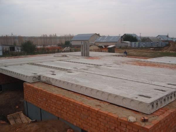 Монтаж плита перекрытия марка бетона дорожных плит